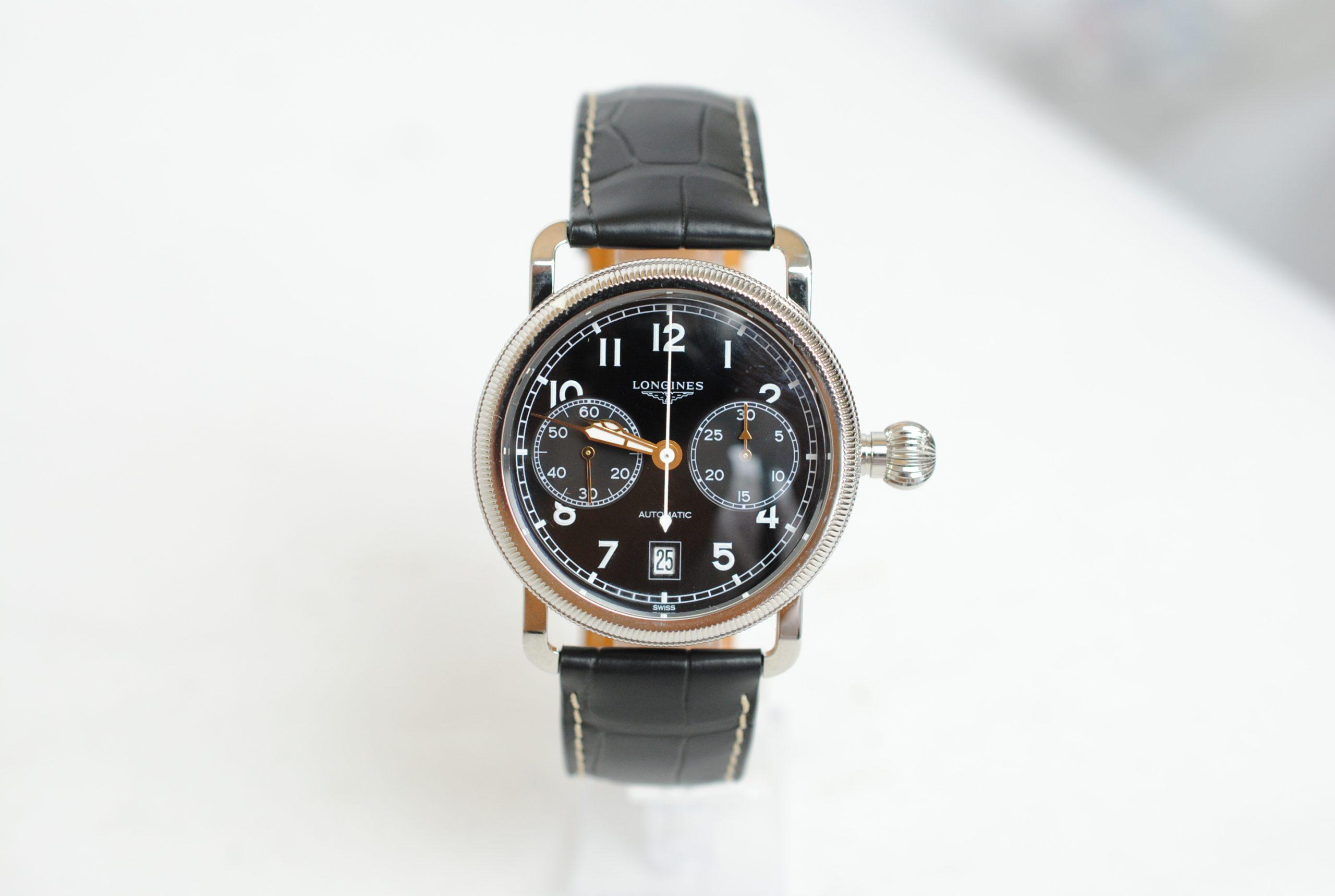 Longinesの機械式時計